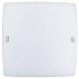 Eglo 91852 LED Borgo 2 LED Wand- & Deckenleuchte Weiß Glänzend Weiß