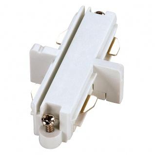 SLV Längsverbinder für 1-Phasen HV-Stromschiene weiss elektrisch 143091