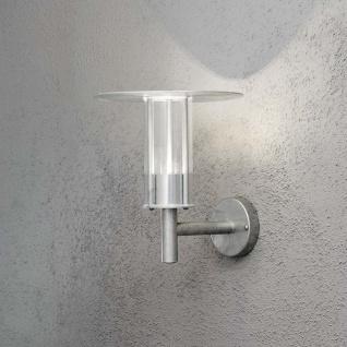 Konstsmide 700-320 Mode LED Aussen-Wandleuchte 700lm 3000K galvanisierter Stahl Polycarbonat Glas - Vorschau 2