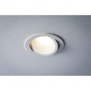 Premium EBL Helia rund schwb LED 2700K 13W 1, 4A 115mm Weiß matt Alu Acryl