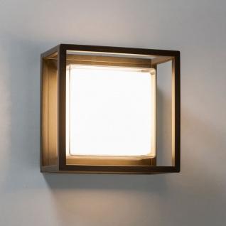 Licht-Trend LED-Aussenleuchte Quadro W2 Wand oder Decke 10W Anthrazit