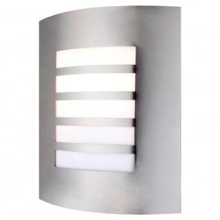 ORLANDO Wand-Aussenleuchte Edelstahl hochwertige Wandleuchte Wandlampe Aussen