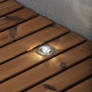 Konstsmide 7659-000 Mini LED Bodenspots Set 6-tlg. / klares Glas