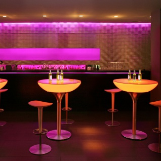Moree Lounge Table LED Tisch Pro mit Akku 105cm Dekorationslampe - Vorschau 3
