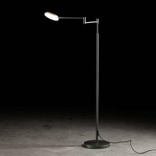 Holtkötter 9656-1-62 Plano B LED-Stehleuchte 140cm Tastdimmer 2000lm Platin