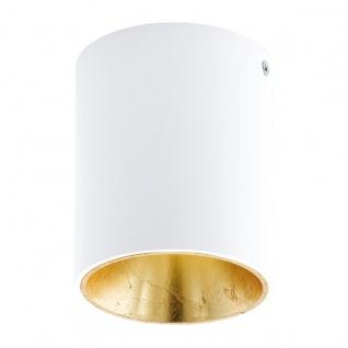 Eglo 94503 Polasso Deckenleuchte Alu Kunststoff Weiß Gold