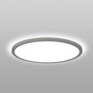 LED Deckenleuchte Board 42 Direkt & Indirekt 4000K Dimmbar per Schalter Weiß Superflache Deckenlampe