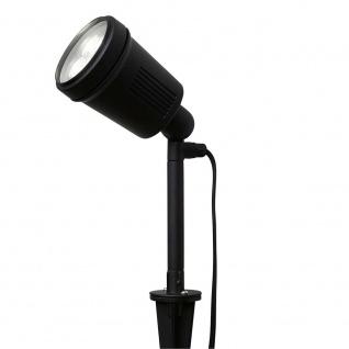 Konstsmide 7640-000 Amalfi LED Erdspießleuchte 1-flg. 12V Schwarz