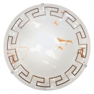 Eglo 93273 LED Twister LED Wand- & Deckenleuchte Ø 31, 5cm Motiv Antik Weiß