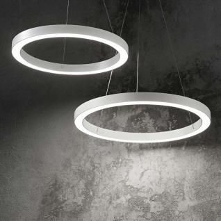 Ideal Lux LED Pendelleuchte Oracle Ø 50cm Weiß 211404