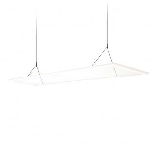 Ice Linear LED Office-Hängeleuchte 120cm 4200lm Neutralweiß Hängelampe Bürolampe