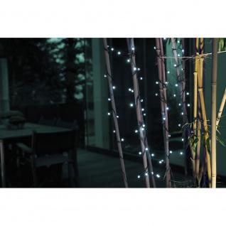 LED Globelichterkette runde Dioden 80 Kaltweiße Dioden 24V Außentrafo