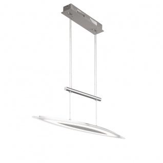 Wofi Avignon LED Pendelleuchte Nickel matt Pendellampe