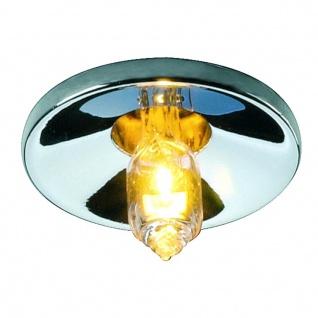 SLV Lightpoint Downlight Einbauleuchte rund Chrom 118012