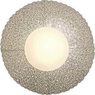 Holländer 300 K 13185 S Wandleuchte 2-flammig Utopistico Grande Eisen-Glas Silber - Vorschau 3