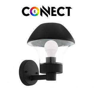 Connect LED Aussen-Wandleuchte Glas 806lm IP44 Warmweiß