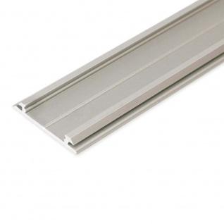 Aufbau-Biegeprofil 200cm Alu-eloxiert ohne Abdeckung für LED-Strips