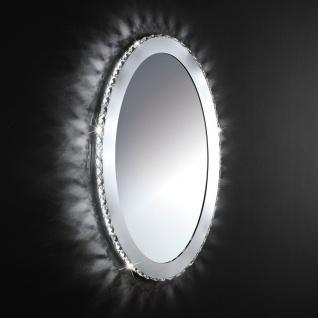 Toneria Kristall LED Spiegelleuchte chrom 36W Wandlampe