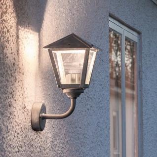 Konstsmide 440-320 Benu LED Aussen-Wandleuchte 700lm 3000K galvanisierter Stahl klares Glas