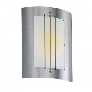 ORLANDO Außen-Wandleuchte Edelstahl Hochwertige Wandleuchte Wandlampe Aussen - Vorschau 2
