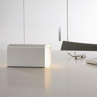 Moree Eraser 260 Tischleuchte Silber Tischlampe