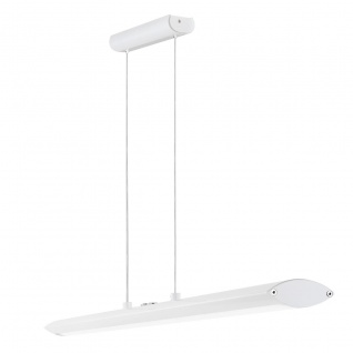 Pellaro Design LED Hängeleuchte weiss 30W Hängelampe