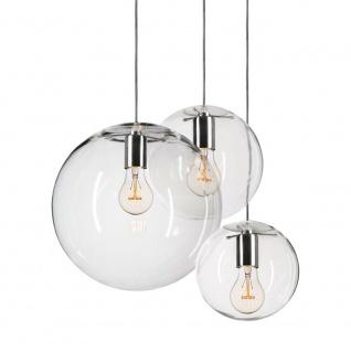 s.LUCE Mylight Orb XL / Pendelleuchte Ø 40 cm / Klar / Pendellampe Glaslampe - Vorschau 5