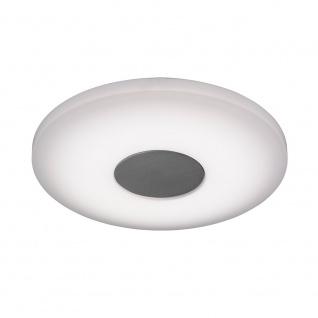 Wofi Dimmbare LED Deckenleuchte VIEW mit Fernbedienung 2000lm Weiss 906601065340 - Vorschau 1