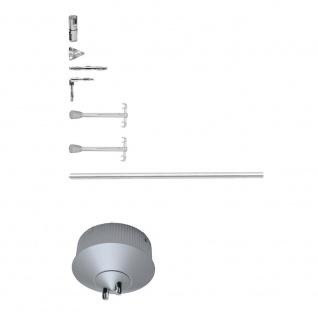 Paulmann Rail System Light&Easy Basissystem Hip Hop 300 Chrom matt 230/12V 300VA Metall