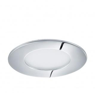 Eglo 96054 Fueva 1 LED Einbaustrahler Ø 8, 5cm 360lm Chrom