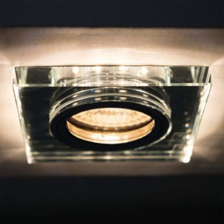 Soren LED Decken-Einbaustrahler 210lm + GU10-Fassung 9 x 9cm Einbauleuchte