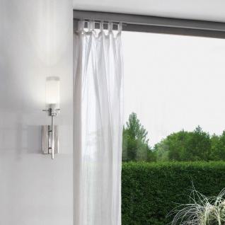 Eglo 91547 Aggius LED Wand- & Deckenleuchte Weiß Klar Chrom