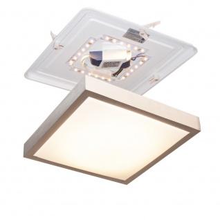 Licht-Trend LED-Deckenleuchte 30 x 30cm 860lm Alu-matt Deckenlampe