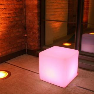 Moree Cube Outdoor LED Sitzwürfel Dekolampe Aussen