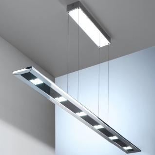 Evotec 11095 Designline LED Pendelleuchte + Fb. 6 x 4 W 1935lm 2700-5700K Chrom