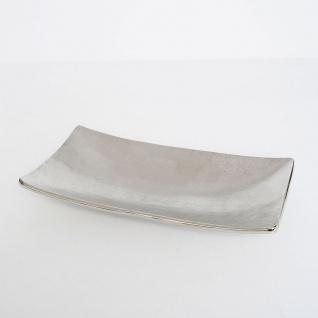 Holländer 334 35101 Dekoschale Promotore Grande Aluminium Vernickelt Silber