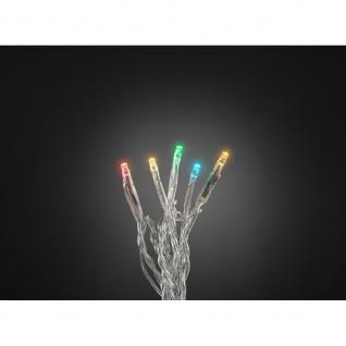 Micro LED Lichterkette verschweißt 20 bunte Dioden 24V Innentrafo