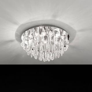 Calaonda Kristall Deckenleuchte Chrom 7 x 33W Deckenlampe