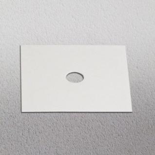 s.LUCE Dekoplatte Weiß passend zu Beam 12 x 12cm Zubehör Innen