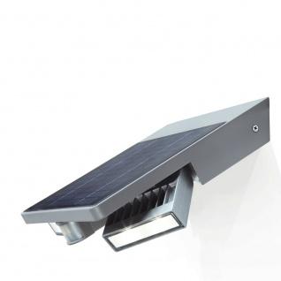 Lutec Tilly LED-Außenwandleuchte IP44 420lm Silber