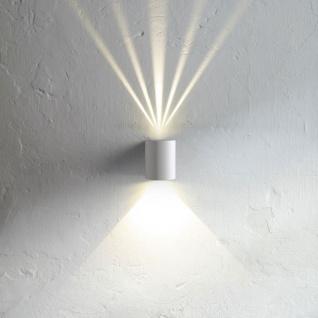 Licht-Trend Baleno LED-Wandleuchte für Aussen und Innen weiss Wandlampe