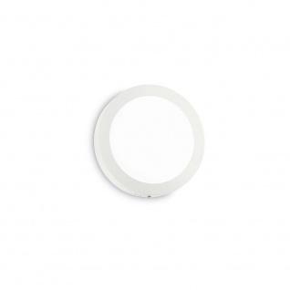 Ideal Lux Wandleuchte Universal 12W Rund Weiß
