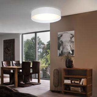 Eglo 31588 Pasteri / Deckenleuchte / Kunststoff Stahl Weiss Textil Weiss