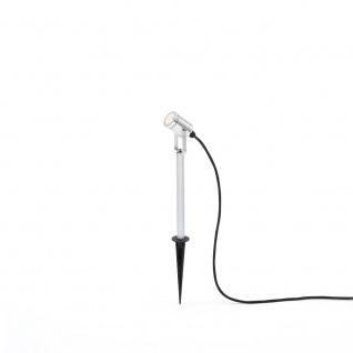 Konstsmide 7968-000 Monza LED Erdspießleuchte mit schwenkbarem Kopf 12V