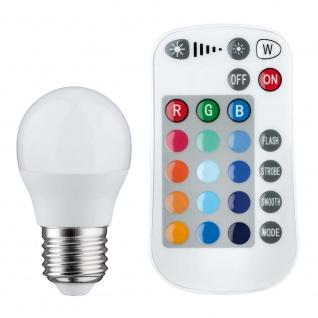 Paulmann LED Tropfen Farbwechsel 3, 5W E27 mit Fernbedienung 28518