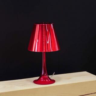FLOS Miss K Tischleuchte mit Dimmer Rot Design Tischlampe Designerleuchte