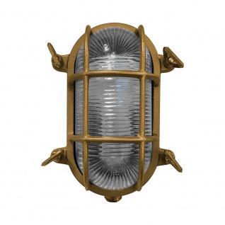 Nordlux Schiffslampe Helford IP64 Messing, Glas 49031035