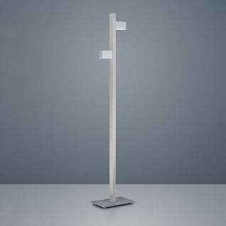 Helestra LED Stehlampe Arta 157cm Nickel-Matt Chrom
