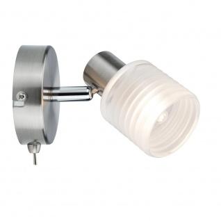 Paulmann Strahler LED Helix 1-flammig Nickel-Gebürstet 1x2, 2W G9 60198