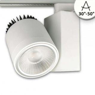 3-Phasen Power-LED Strahler 3000lm 4000K fokussierbar Weiss dimmbar